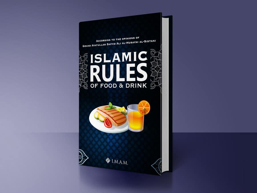 Book Cover Design Rules : Design book cover for a booklet quot islamic rules of food and