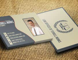 #43 cho Design Business Cards for a Law Office bởi developingtech