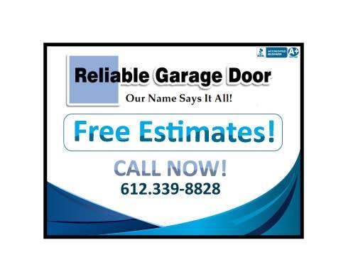 Kilpailutyö #                                        14                                      kilpailussa                                         Graphic Design for Reliable Garage Door