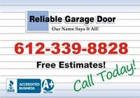 Contest Entry #42 for Graphic Design for Reliable Garage Door