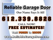 Contest Entry #18 for Graphic Design for Reliable Garage Door