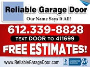 #104 for Graphic Design for Reliable Garage Door by su1d