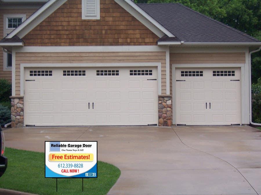 #50 for Graphic Design for Reliable Garage Door by dirav