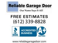 Contest Entry #44 for Graphic Design for Reliable Garage Door