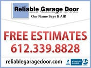 Contest Entry #24 for Graphic Design for Reliable Garage Door
