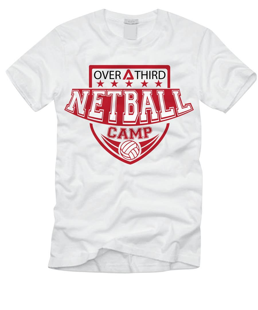 Design t shirt netball -  8 For Netball Camp T Shirt Design By Djilovedesign
