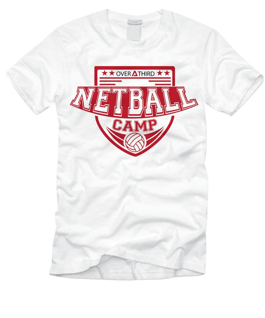 Design t shirt netball - Contest Entry 20 For Netball Camp T Shirt Design