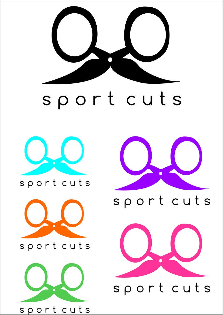 Konkurrenceindlæg #                                        8                                      for                                         Design a Logo for My Hairdesign Salon for Men