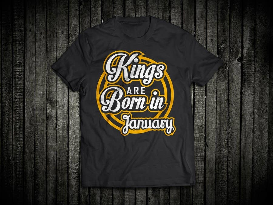 Contest Entry 48 For Design A T Shirt My Birthday Month