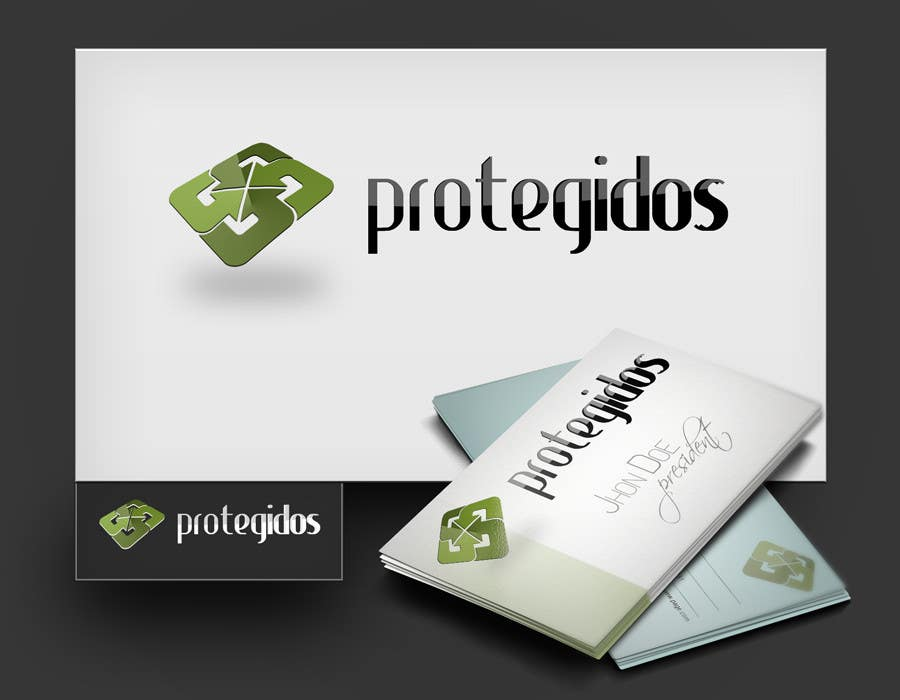 "Конкурсная заявка №55 для Logo Design for ""Protegidos"""
