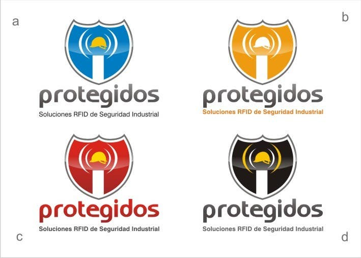 """Конкурсная заявка №95 для Logo Design for """"Protegidos"""""""