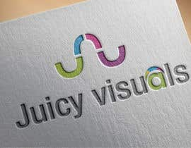 #229 for Design a Logo:  Juicy Visuals by theocracy7