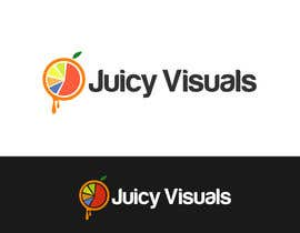 #189 for Design a Logo:  Juicy Visuals by dandrexrival07