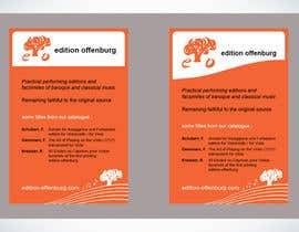 #34 pentru Graphic Design for edition offenburg de către Guxalin