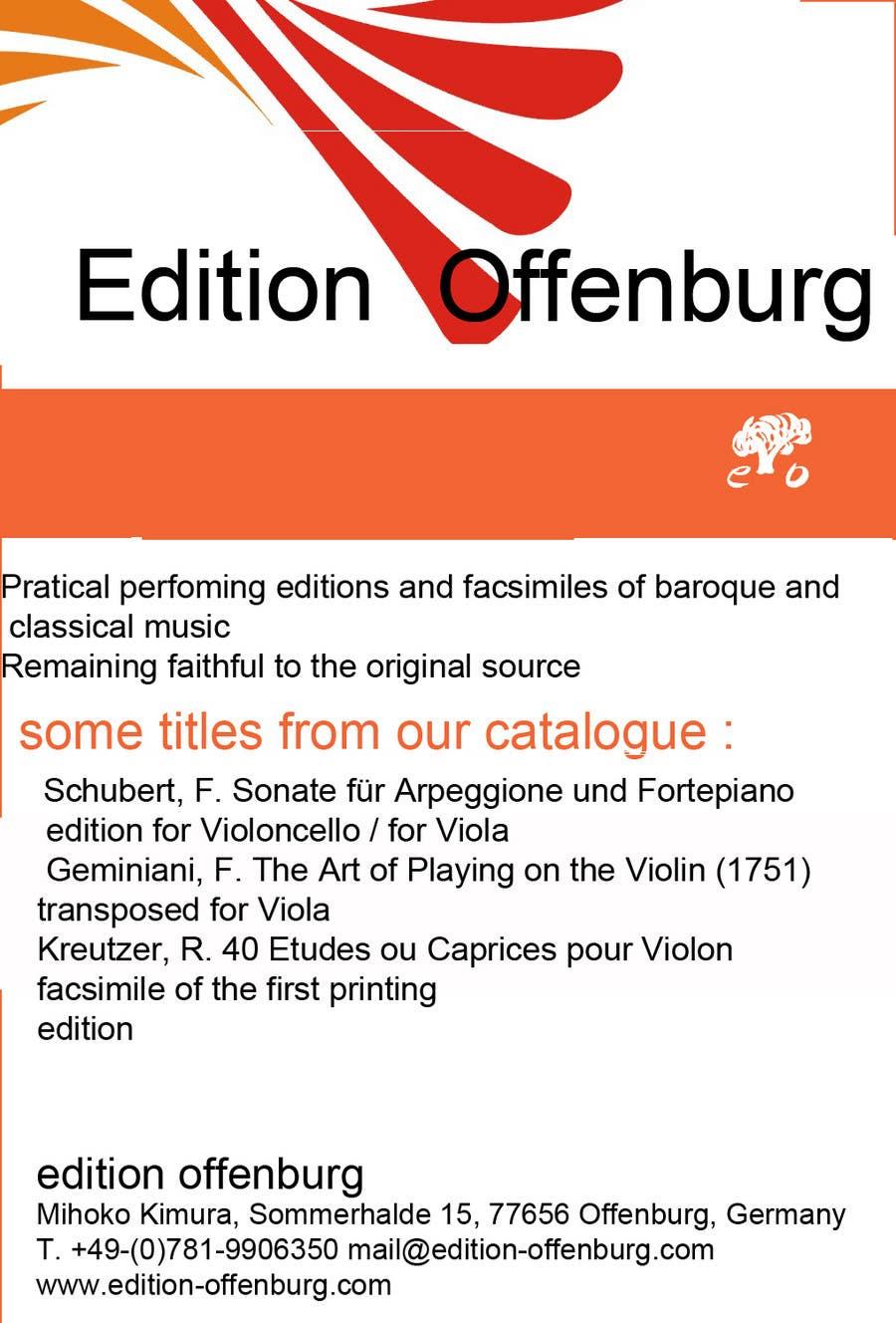Bài tham dự cuộc thi #                                        5                                      cho                                         Graphic Design for edition offenburg