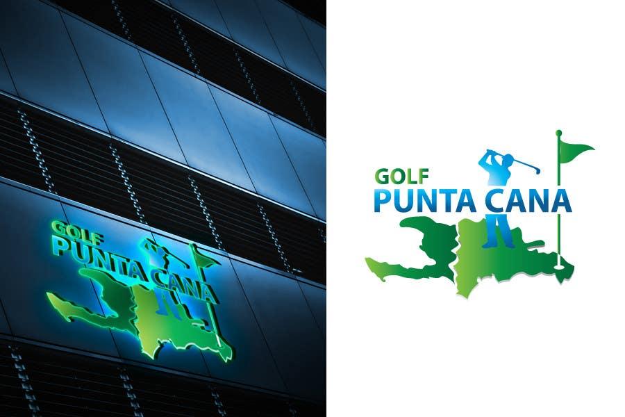 Penyertaan Peraduan #                                        80                                      untuk                                         Logo Design for Golf Punta Cana