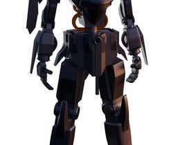 #28 cho Anime Super Robot 3D Model Textured Rigged bởi BroDesigns