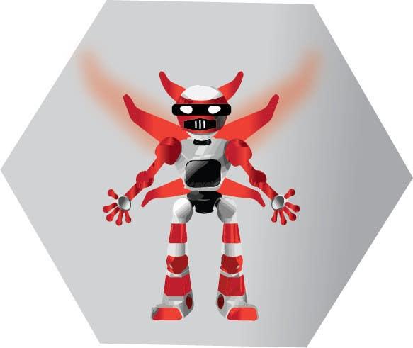 Bài tham dự cuộc thi #                                        13                                      cho                                         Anime Super Robot 3D Model Textured Rigged