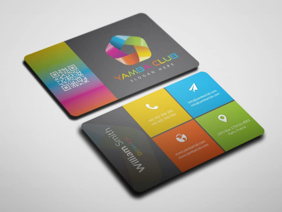 Entry #222 by KanizzFatema for Design colourful Business Cards ...