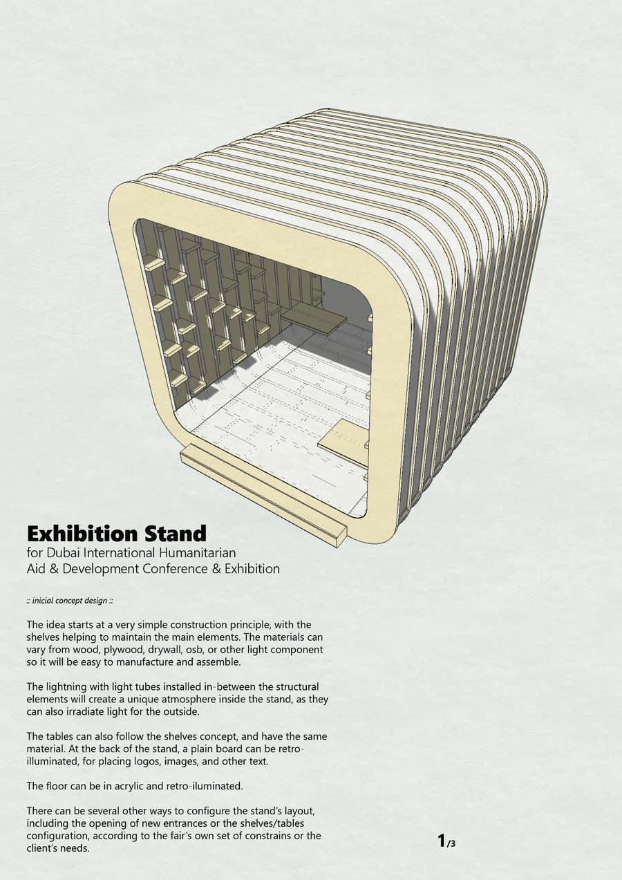 Exhibition Stand Shelves : Display stand graphics vector art graphics freevector