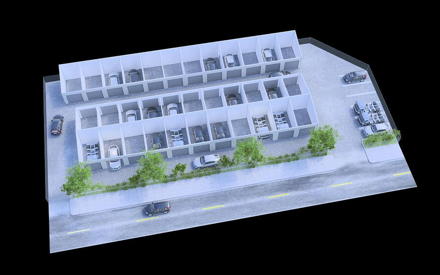 Kilpailutyö #80 kilpailussa 3D Rendered Drawing Designs of a Real Estate Development for Linn Industries