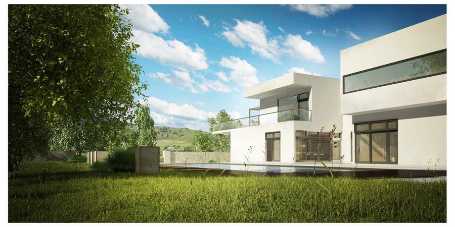 Kilpailutyö #19 kilpailussa 3D Rendered Drawing Designs of a Real Estate Development for Linn Industries
