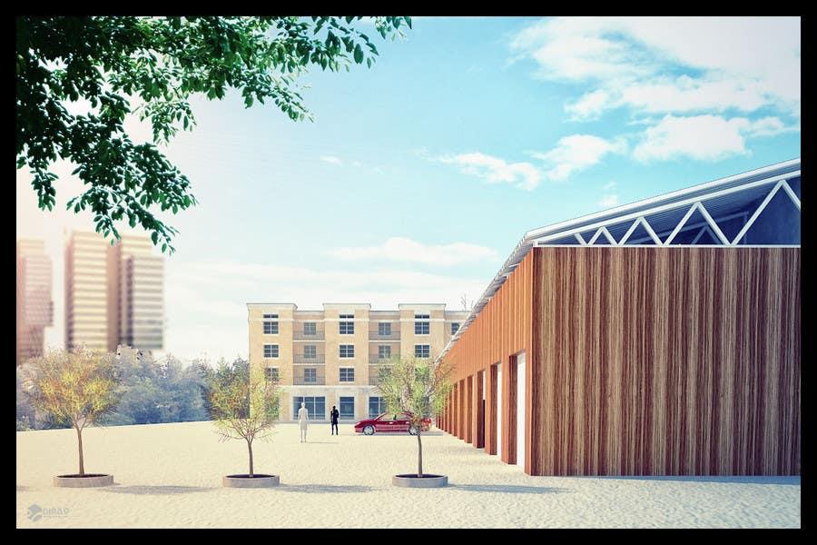 Inscrição nº                                         46                                      do Concurso para                                         3D Rendered Drawing Designs of a Real Estate Development for Linn Industries