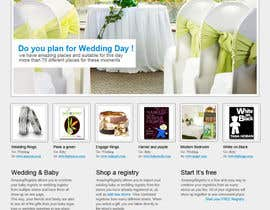 #5 untuk Website Design for Amazing Registry.com, Inc. oleh cgspirit