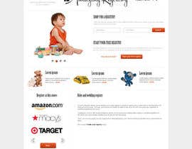 nº 8 pour Website Design for Amazing Registry.com, Inc. par webgik