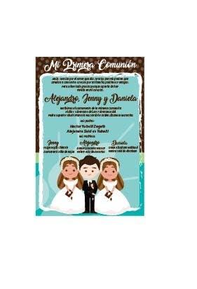 Entry 16 By Teresagm73 For Invitacion Primera Comunion Y
