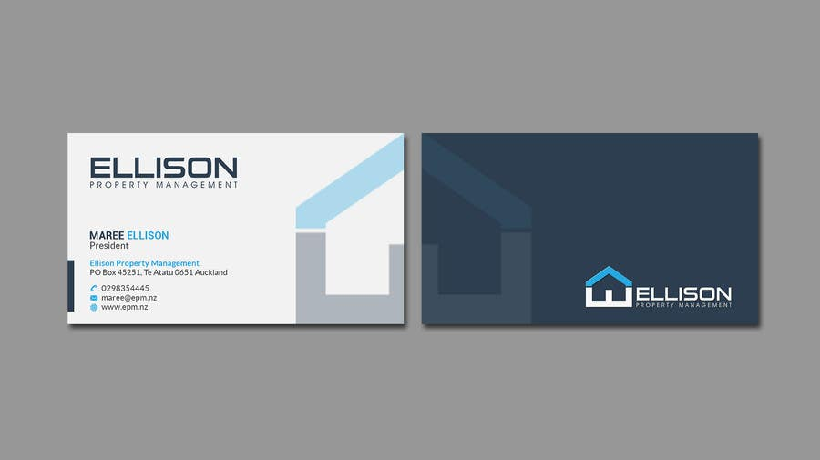Entry 56 by mahmudkhan44 for ellison property management business contest entry 56 for ellison property management business card reheart Image collections