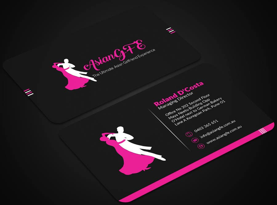 Entry #17 by mehfuz780 for Design a logo and business card for my ...