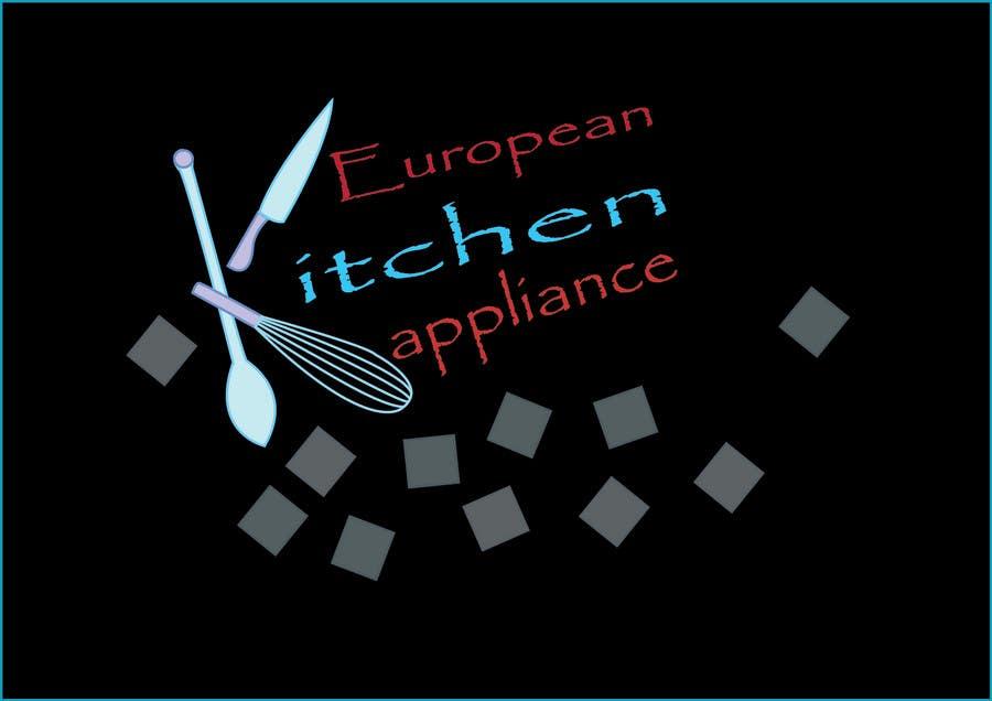 Penyertaan Peraduan #                                        58                                      untuk                                         Logo Design for A kitchen appliance showroom Retailing ovens , cooktops, range hoods, dishwashers