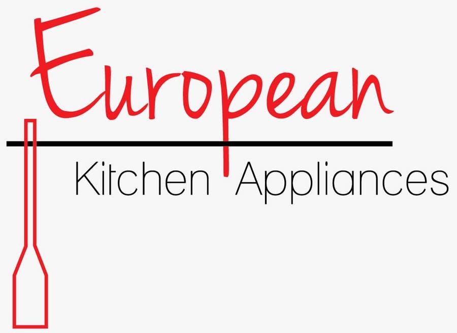 Penyertaan Peraduan #                                        55                                      untuk                                         Logo Design for A kitchen appliance showroom Retailing ovens , cooktops, range hoods, dishwashers