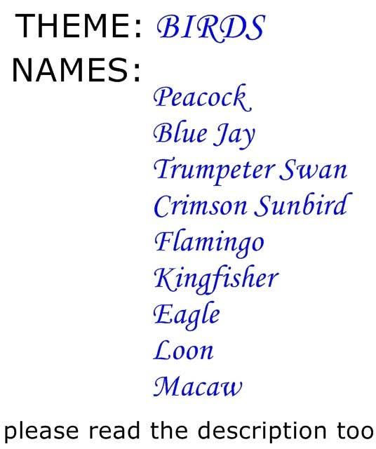Bài tham dự cuộc thi #40 cho Brainstorm names for conference rooms for Freelancer HQ