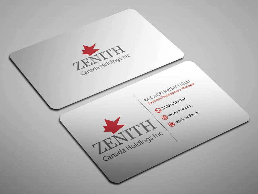 Entry #109 by sahajid000 for Design a classy Business Card | Freelancer