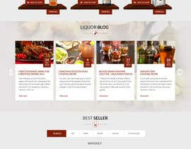 #22 for Design a Beer / Liquor / Wine Website by iTechnoweb