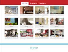 nº 3 pour Concevez une maquette de site Web pour une entreprise de peinture en bâtiment par belhajyassine05
