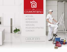nº 5 pour Concevez une maquette de site Web pour une entreprise de peinture en bâtiment par belhajyassine05