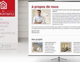 nº 6 pour Concevez une maquette de site Web pour une entreprise de peinture en bâtiment par belhajyassine05