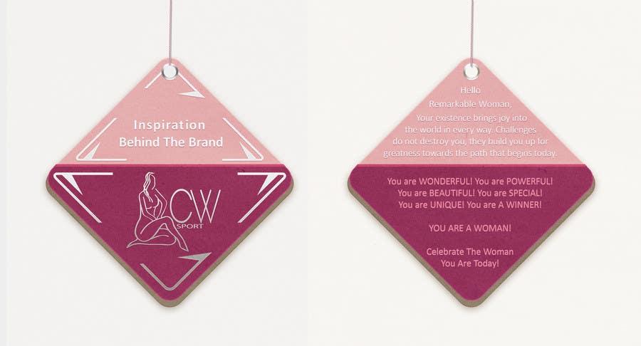 Inscrição nº                                         29                                      do Concurso para                                         Create hang tag for clothing, backdrop, and Packaging Designs