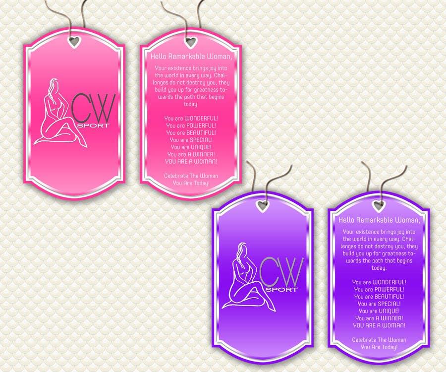 Inscrição nº                                         28                                      do Concurso para                                         Create hang tag for clothing, backdrop, and Packaging Designs