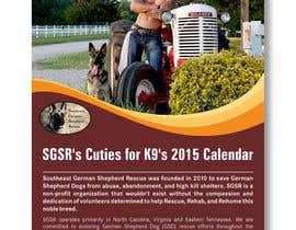 #10 para Design a Calendar for Southeast German Shepherd Rescue por harihenansh
