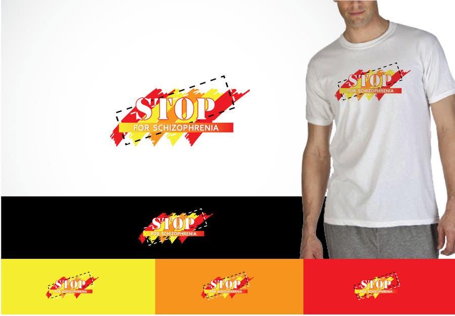 Inscrição nº                                         130                                      do Concurso para                                         Logo Design for Logo is for a campaign called 'Stop' run by the Schizophrenia Research Institute