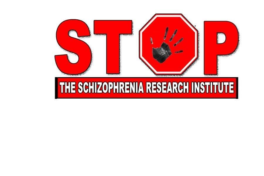 Inscrição nº                                         64                                      do Concurso para                                         Logo Design for Logo is for a campaign called 'Stop' run by the Schizophrenia Research Institute