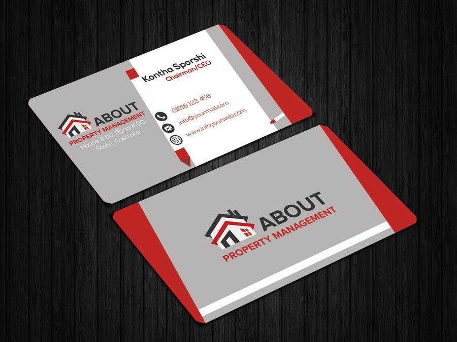 Entry 204 By Noormonowar For Design 2 Types Of Business Cards