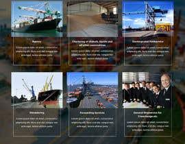 Nro 22 kilpailuun Redesign of www.shipping-services.de käyttäjältä csatya