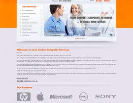 #22 para Website Design for Less Stress Computer Services por SHIBANISOFT