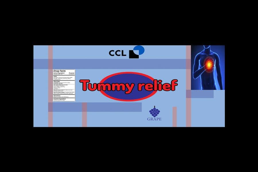 contest entry 3 for label design cough syrup or heartburn liquid medication label