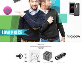 #95 for Design a banner for a futuristic ecommerce gadget site by adidoank123